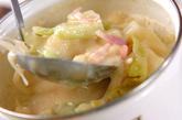 とろみ豆乳みそスープの作り方4