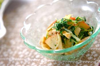水菜のゴマ和え