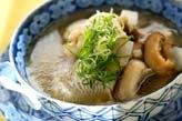 鯛アラのスープ