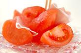 冷やしトマトと生ハムのサラダの作り方2