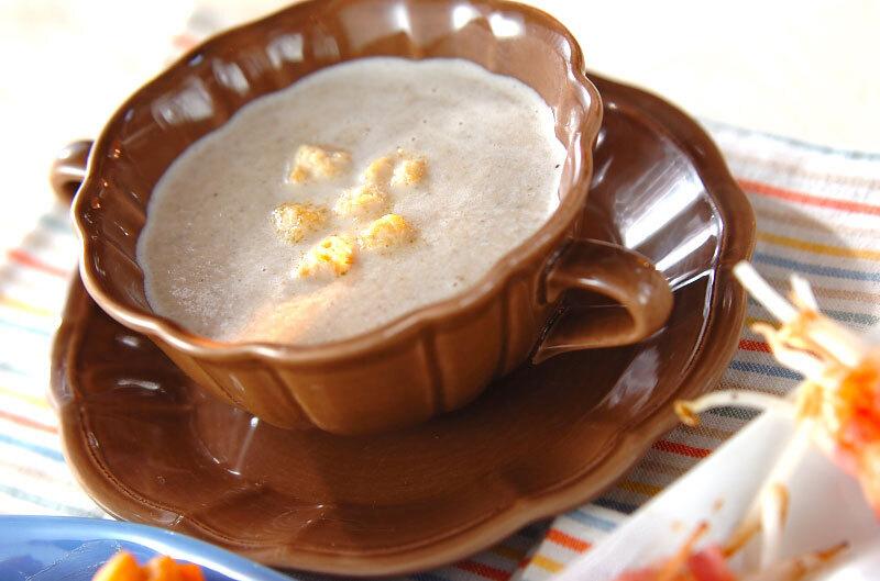 1. マッシュルームのスープ