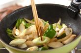 牛カルビの炒め物の作り方2