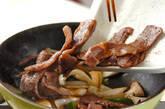 牛カルビの炒め物の作り方8
