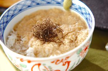 麦トロご飯