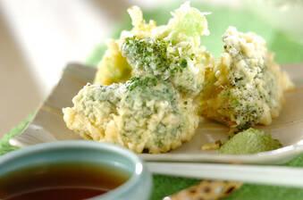 ブロッコリーの天ぷら
