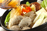 イワシのつみれ鍋の作り方4