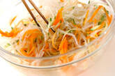 糸寒天のカラシ酢みそがけの作り方4