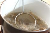 貝入りみそ汁の作り方2