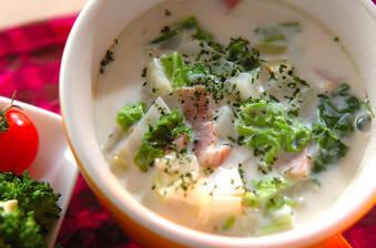 白菜のミルクスープ