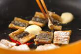 アナゴキャベツ炒めの作り方3