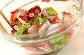 ゆでタコと塩揉みキュウリの酢鉢の作り方3