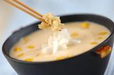 豆腐の冷やし汁の作り方1