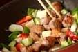 豚肉カシューナッツ炒めの作り方3