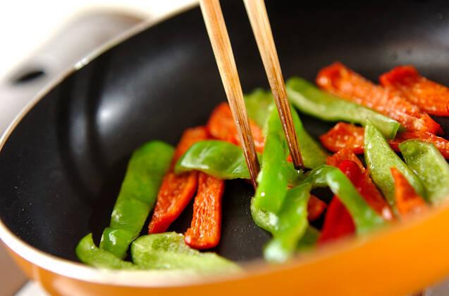 シーフード炊き込みご飯の作り方の手順3