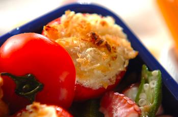 ミディトマトのオーブン焼き