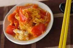 トマトのオイスター炒め