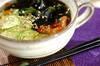 キムチ入りキュウリの冷スープの作り方の手順