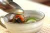 キムチ入りキュウリの冷スープの作り方の手順5