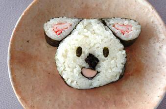 コアラちゃんデコ巻き寿司