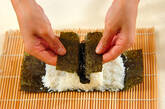 コアラちゃんデコ巻き寿司の作り方7