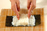 コアラちゃんデコ巻き寿司の作り方5