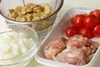 チキンライスドリアの作り方1