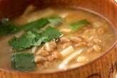 納豆のピリ辛汁