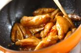 鶏手羽とゴボウの甘酢炒めの作り方3
