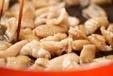 フライパン焼き鶏風の作り方2