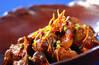 鶏肝と梅の梅酒煮