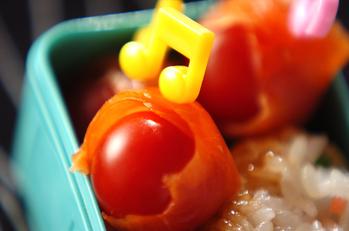 サーモン巻きトマト
