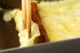 う巻き卵の作り方2