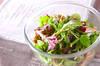 緑の温サラダ