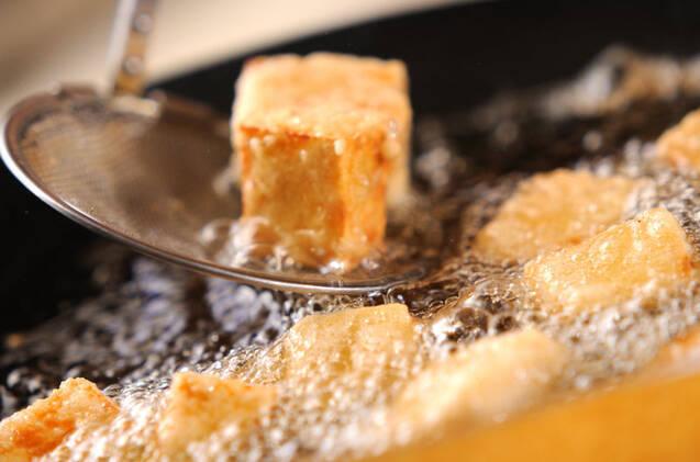 揚げナスと高野豆腐のチリソースの作り方の手順7