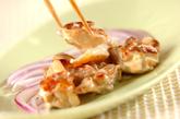 鶏の香味焼き和風マヨ和えの作り方3