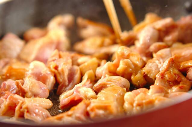 鶏の香味焼き和風マヨ和えの作り方の手順4