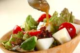 シャキシャキ梨のゴマ風味サラダの作り方1