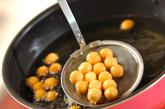 ハチミツ風味のドーナツの作り方3