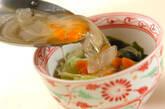 ちぎりレタスのスープの作り方2