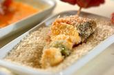 サクサク鮭フライの作り方2