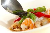 魚介のバジル炒めライスの作り方3