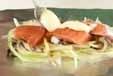 鮭のマヨホイル焼きの作り方2