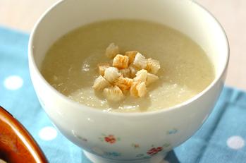 キャベツの豆腐カレースープ