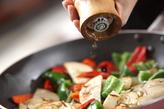 揚げサバの黒酢あんかけの作り方2