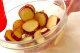サツマイモのママレード和えの作り方2