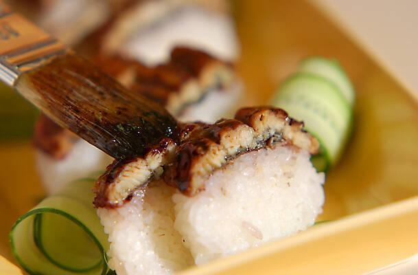 ウナギバゲット寿司の作り方の手順6