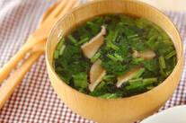 青菜の中華スープ