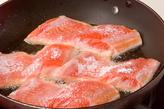 鮭のソテータルタルソースの作り方2