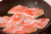鮭のソテータルタルソースの作り方8