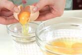 ふわふわ卵炒めの下準備1